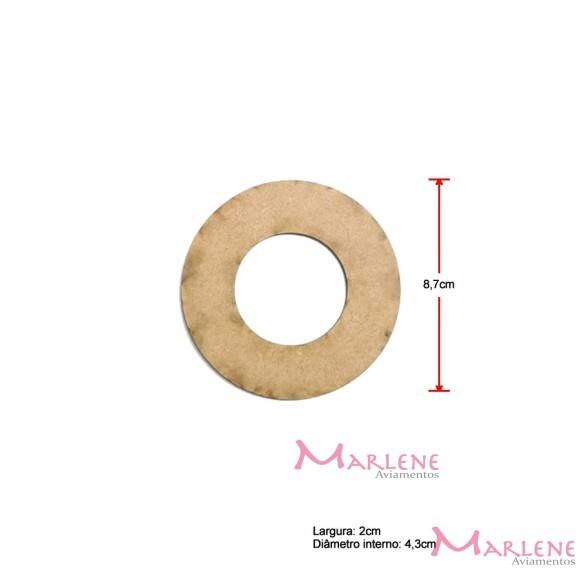 Argola MDF 8,7cm