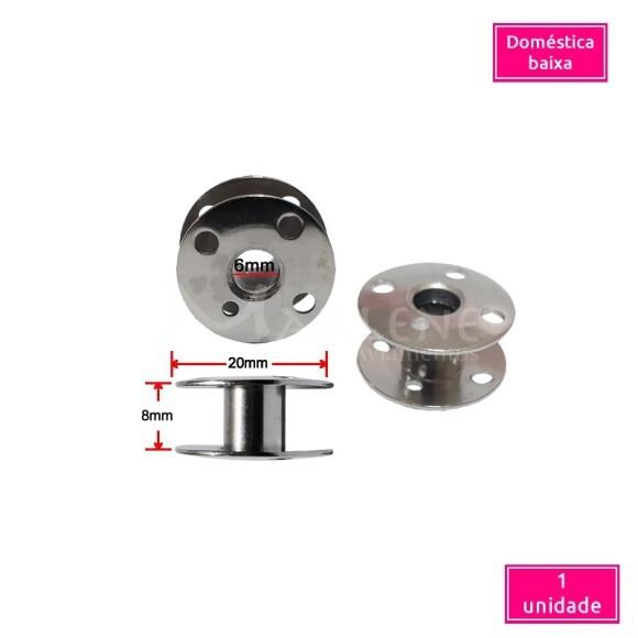 Bobina metal baixa para máquina doméstica unidade