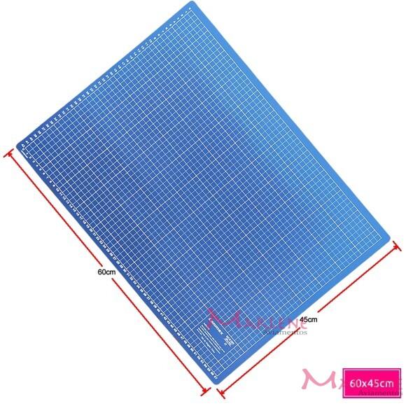 Base de corte azul 60x45cm dupla face A2