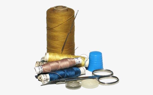 Categoria Costura: Artigos para costura como linhas, agulhas, alfinetes, zíperes, entre outros